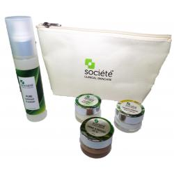 Societe Hydrating Travel Kit (4 Pieces) $67 with FREE SHIPPING