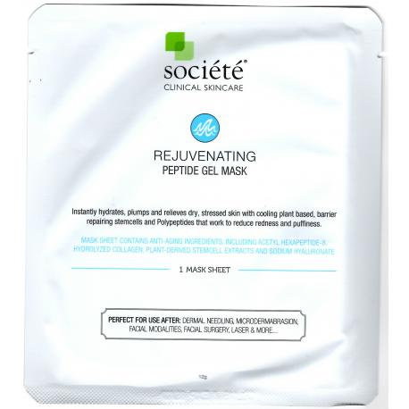 Societe Peptide Mask & 2 x AHA Travel Cleansers