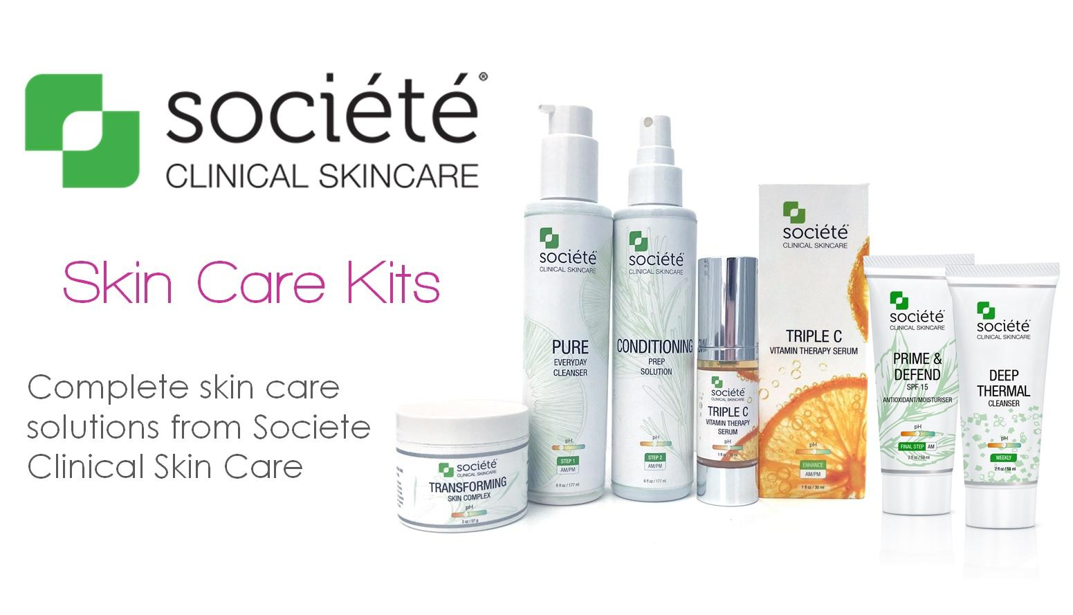 Societe Skin Care Kits